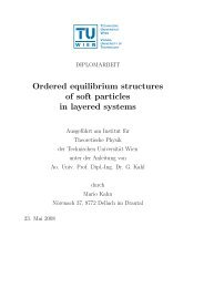 Ordered equilibrium structures of soft particles in ... - Soft Matter Theory