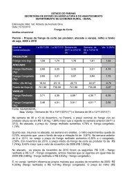 frango de corte 12 _13dez2010.pdf - Secretaria da Agricultura e ...