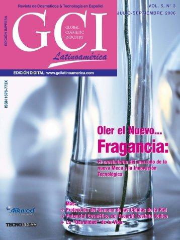 Fragancia: Fragancia: - Cosmetics Latinoamérica