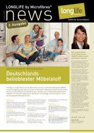Newsletter als PDF - LONGLIFE Polsterstoffe