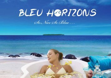 Download our new catalog! - Bleu Horizons