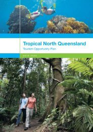 A Vision for the Tropical North Queensland region - Tourism ...