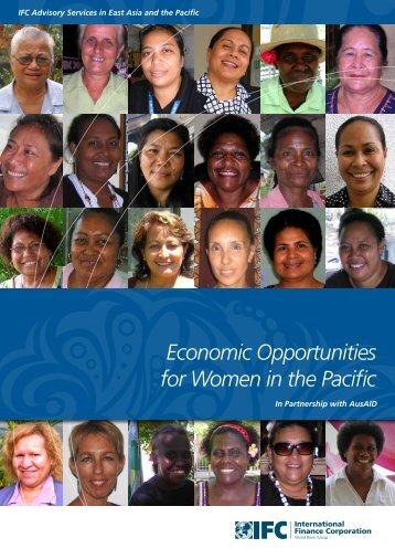 Economic Opportunities for Women in the Pacific - Case - IFC