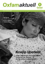 Oxfam aktuell Nr. 46