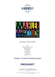 PRESSEHEFT - Babylon Kino