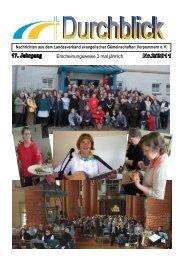 Durchblick 2011-2 - Landeskirchlicher Gemeinschaftsverband ...