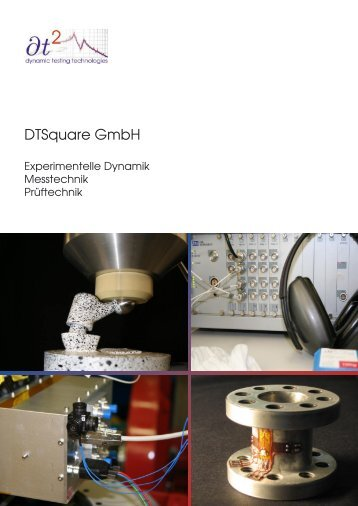 DTSquare Portfolio (PDF) - DTSquare GmbH