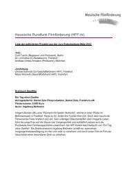 Entscheidung_HR2012A - Hessische Filmförderung