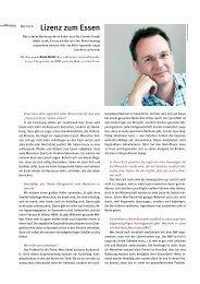 Interview | Lizenz zum Essen - Gunter Frank