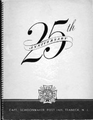 25th Anniversary Year Book of Captain Stephen S. T.