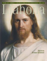 Mars 2008 Liahona - Jesu Kristi Kyrka av Sista Dagars Heliga