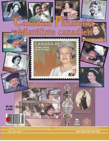 Canadian Philatelist philatéliste canadien Canadian Philatelist ...
