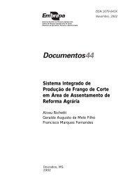 Sistema Integrado de Produção de Frango de Corte - Ainfo - Embrapa
