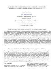 análise do impacto do rodízio no grau - Engenharia de Produção e ...
