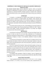 desempenho e caracterização de carcaça de linhagens ... - UFPI