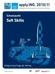 apply.ING. 2010/11 Soft Skills - TU Career Center