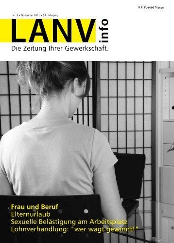 LANV info Nr. 3 November 2011