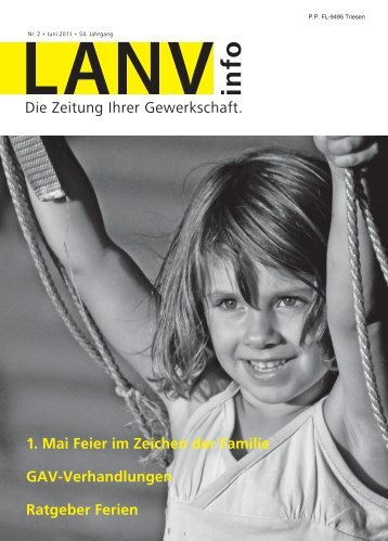 LANV info Nr. 2 Juni 2011