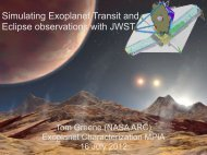 Simulating Exoplanet Transit and Eclipse observations with JWST