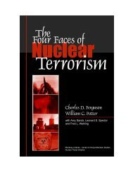 The Four Faces of Nuclear Terrorism - jeffreyfields.net