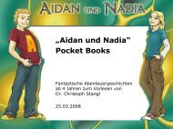 """Aidan und Nadia"" Pocket Books"