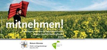 mitnehmen! – Regionalbüro Mitte - Bistum Münster - Gymnasien