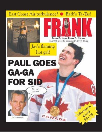 Frank Magazine Issue 600.pdf - Besthostingplanever.com