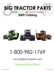 2009 Catalog - Big Tractor Parts