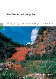 Steinbrüche und Kiesgruben - HeidelbergCement