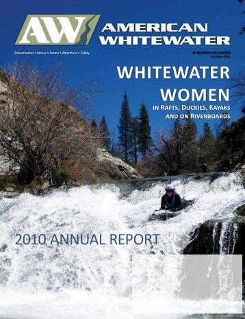 WHITEWATER WOMEN - American Whitewater
