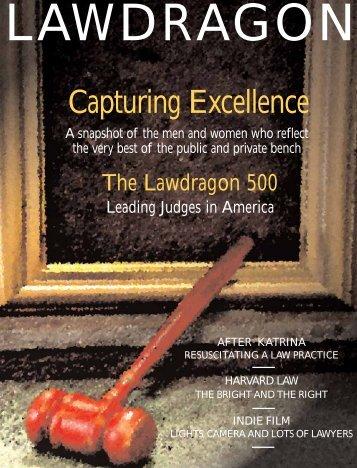 Lawdragon 500 Leading Judges in America