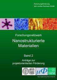 Band 2 - Forschungsschwerpunkt Nanostrukturierte Materialien