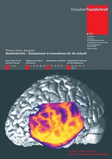 Medizintechnik - im Forschungsinformationssystem der TU Dresden ...