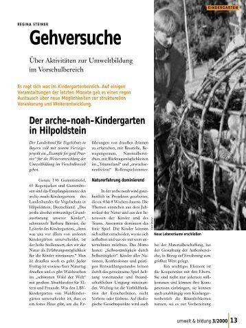 3/2000 - Forum Umweltbildung