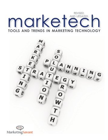 tools and trends in marketing technology - Client Project Website ...