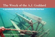 The Wreck of the A.J. Goddard: A sternwheeler - Department of ...