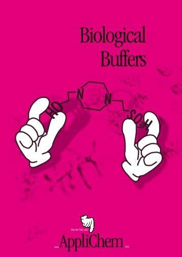 Biological Buffers • AppliChem