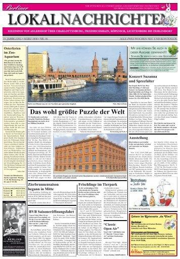 Lokalnachrichten - Verlag - Berliner Lokalnachrichten