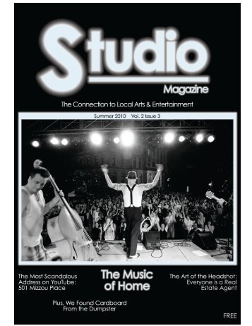 Volume 2 Issue 3 - Studio Magazine