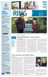 Read this issue as a PDF - The Ring - University of Victoria
