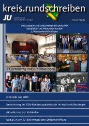 Ganzseitiges Foto - JUNGE UNION Kreisverband Reutlingen