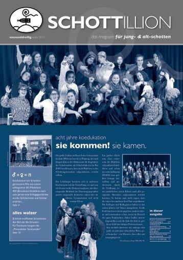 Schottillion Ausgabe Nr. 39 - Alt-Schotten