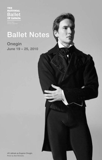 Onegin - The National Ballet of Canada