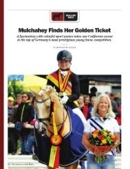 Mulchahey Finds Her Golden Ticket - Yellow Horse Marketing