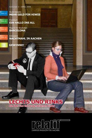 relatif Ausgabe 03 - AStA RWTH-Aachen