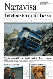 Sjåfør uskadd etter trailervelt i Eksetsvingen - Høgskulen i Volda