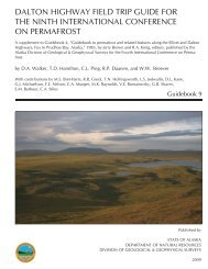 Dalton Highway Field Trip Guide - Alaska Geobotany Center