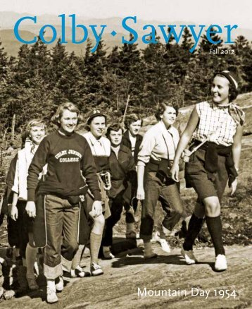 Fall 2012 Issue - Colby-Sawyer College