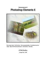 Ekstramateriale til Photoshop Elements 6 - Forlaget Libris