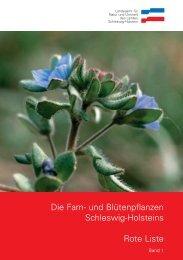 Die Farn- und Blütenpflanzen Schleswig-Holsteins Rote Liste